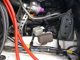 rdr gt stealth fuel pump rewiring remove your fuel pump relay from under the fusebox bracket it s directly under the fusebox and should have plenty of slack in the wiring to pull it out as