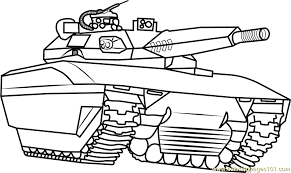 Small Picture Army Tank Coloring Page Free Tanks Coloring Pages