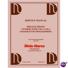 Dixie Narco Vending Machine Troubleshooting Adorable USERSERVICE MANUAL For DIXIE NARCO SIID S488D 48Button MultiPrice