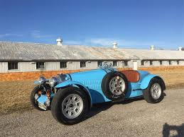 The monthly registry sales mentions. 1971 Bugatti Type 37 Replica Factory Built Not A Kit Car For Sale Classiccars Com Cc 963241