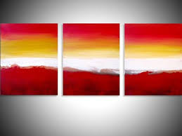 triptych art 3 panel wall art colour slats 3 panel canvas wall art canvas pop office home abstract contemporary original more photos  on 3 panel wall art canvas with abstract triptych painting colour slats by stuart wright dribbble