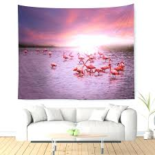unicorn horse flamingo wall art canvas posters and prints painting cartoon nursery