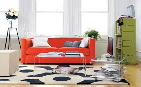 colorful modern furniture. Furnitures:Colorful Modern Acrylic Chairs Licing Room Decor With Orange Sofa Ans Clear Coffee Colorful Furniture L