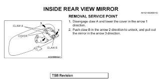 how to install an autodimming mirror evolutionm net again referring to the manual diagram you will now pull a small tab at the bottom of the mount for the mirror and then slide the mount and mirror up off