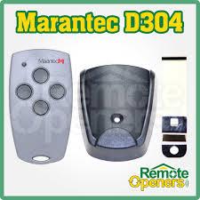 marantec digital 304 garage door remote transmitter 433 92mhz