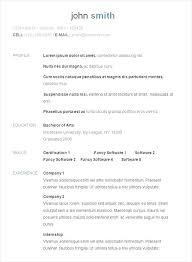 Example Of Format Of Resume Resume Samples Formats Resume Format ...