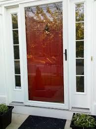 front doors with storm door. I Need To Paint Our Storm Door White With The Red Front Door. Doors ,