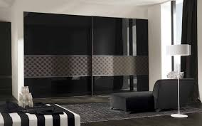 edgy furniture. Edgy Black Wardrobe Design With White Contemporary Lamp For Minimalist House Ideas Furniture