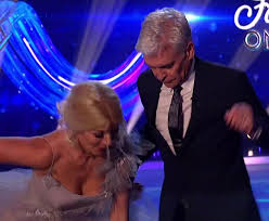 This content is imported from instagram. Holly Willoughby Worried Camera Filmed Under Her Dress After Dancing On Ice Near Miss That Nearly Tore Her Gown Off