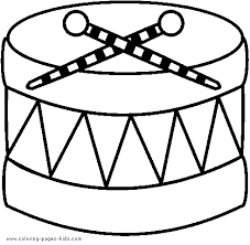 Music Color Page Coloring Pages For Kids Miscellaneous Coloring