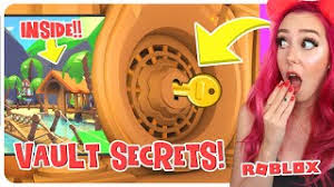 You can press e or tap on the vault, to examine the lock, which then displays a message that says hmm. What S Really Behind The Locked Door In Adopt Me Rebecca Cute766