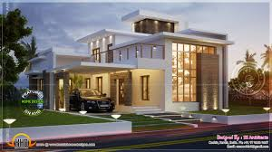 Sq Feet Contemporary House Kerala Home Design Floor Plans Bedroom - Modern apartment building elevations