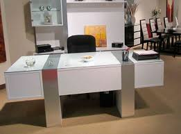 modern white office desk. Magnificent Modern White Office Desk Also Home Designing Inspiration D