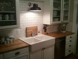 Butcher Block Countertops Reviews Sapele Mahogany Butcher Block 7 14 Inches Thick Ikea Kitchen