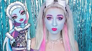 abbey bominable monster high makeup tutorial
