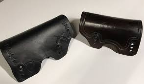 leather cheek rest cover for bradley cheek rest