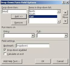 How To Add A Drop Down Box In Word How To Populate A Dependent Dropdown List In Word Techrepublic