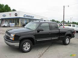 Silverado 2003 chevy silverado extended cab : 2003 Black Chevrolet Silverado 1500 Z71 Extended Cab 4x4 #10935968 ...