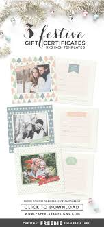 best images about photography design templates festive gift certificate templates them for at
