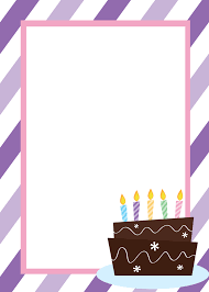 Bday Invitations Templates Printable Birthday Invitation Templates 1