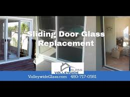 phoenix arcardia sliding door glass replacement and repairs