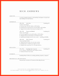 Resume Template Word Document Wfacca