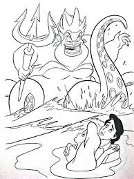 Disney Coloring Pages Ariel Characters Called Coloring Pages
