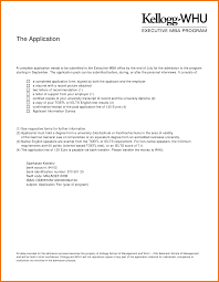 Letter Of Recommendation For Mba From Professor Cover Letter