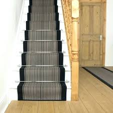black white striped stair runner carpet for stairs and long floor runners designs