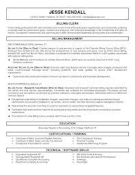 Sample Resume For Accounting Clerk Davidkarlsson