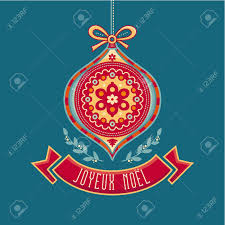 Happy Holiday Card Templates Joyeux Noel Happy Holidays Winter Holiday Ribbons Merry Christmas