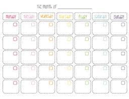 Cute Calendar Template Delectable 44 Calendar Templates For Word Inspirational Cute Blank Calendar