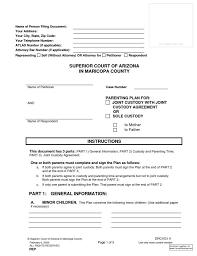 Custody Agreement Template Child Custody Agreement Template Carinsurancequotesla Xyz