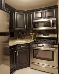 kitchen color ideas with oak cabinets and black appliances. Kitchens With Black Appliances | Sink, Corner Kitchen Cabinets, Color Ideas Oak Cabinets And
