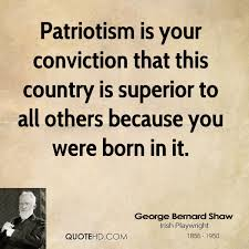 George Bernard Shaw Patriotism Quotes | QuoteHD