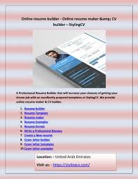 Cover Letter Builder By Video Player For Mac Issuu