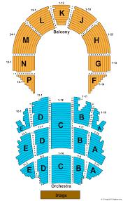 Brady Theater Seating Chart