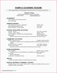 High School Work Resume Example Resume Objective For No Work Experience 11 Valuable Resume