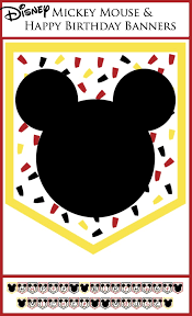 Free Printable Banners Disney Party Banners Capturing Joy With Kristen Duke