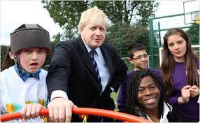 London Mayor Boris Johnson Scores For TreeHouse School  Ambitious Treehouse School London