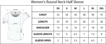 Round Neck Half Sleeve Women