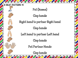 Pattern Song Simple 48 Ways To Teach Steady Beat