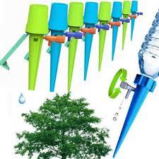 10x New <b>Plant</b> Self <b>Watering</b> Spikes <b>Adjustable Automatic</b> Drip ...