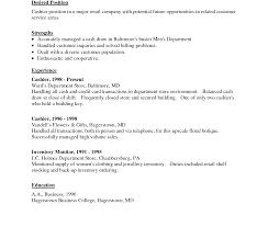 Grocery Store Clerk Resume Resume Templates Convenience Store Clerk