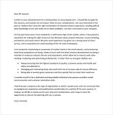 retail cover letter example template retail covering letter