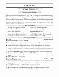 Sales Manager Resume Examples New Cinema Manager Cover Letter