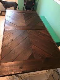 diy farmhouse table top table top designs pretty furniture design outdoor chevron farmhouse diy high top