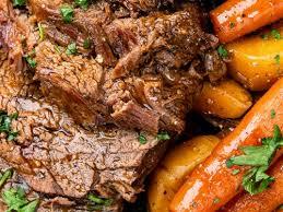 slow cooker roast beef supergolden bakes