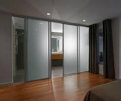 sliding panel doors for bathroom