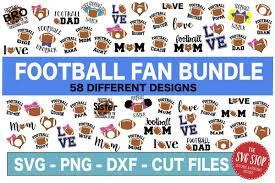 Football Svg Designs Football Svg Bundle Svg Png Dxf